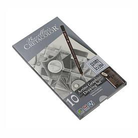 Набор графитных карндашей Artino Graphite 10шт. мет упаковка Cretacolor