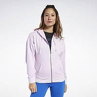 Женское худи Reebok Training Essentials Full-Zip(Артикул:FJ2727)