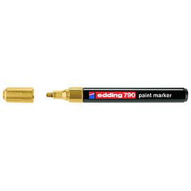 Лаковий Маркер Edding 2-3 мм золотий e-790/12
