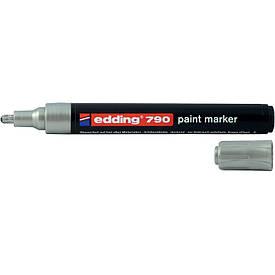 Лаковий Маркер Edding 2-3 мм срібний 790/13