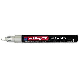 Лаковий Маркер Edding 1-2 мм білий e-791/11