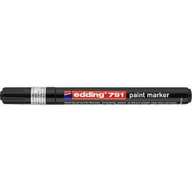 Лаковий Маркер Edding 1-2 мм чорний e-791/01