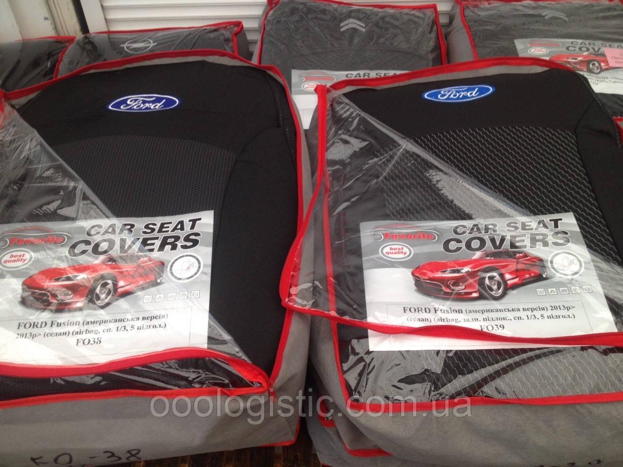 Авточохли на Ford Fusion (USA) 2013> sedan