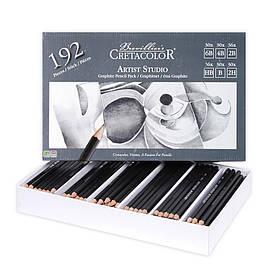 Набір графітних олівців Artist Studio для шкільних класів 192 шт. Creatacolor