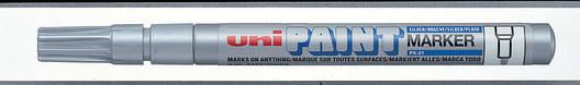 Маркер uni PAINT 0.8-1.2мм белый, фото 2