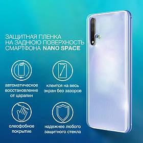 Гидрогелевая плёнка на любую модель телефона Nano Space на заднюю панель смартфона   Полиуретановая пленка