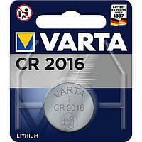 Батарейка Varta Lithium CR 2016 1шт, фото 1