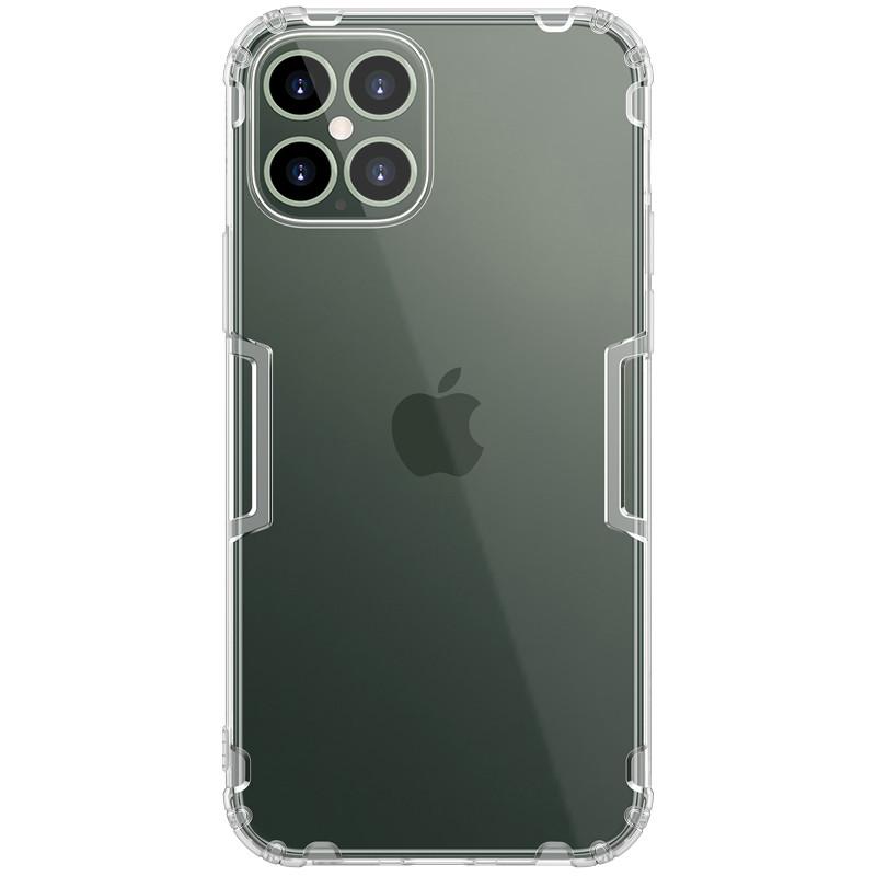 "Nillkin Apple iPhone 12 Pro Max (6.7"") Nature TPU Case White Силиконовый Чехол"
