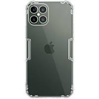 "Nillkin Apple iPhone 12 Pro Max (6.7"") Nature TPU Case White Силиконовый Чехол, фото 1"