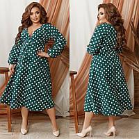 Стильное платье    (размеры 48-62) 0254-40, фото 1