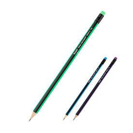 Графитный карандаш Axent НВ с ластиком 9006-A