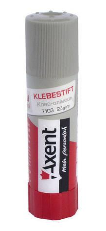 Клей-карандаш ПВА Axent  25 г (7103-A), фото 2