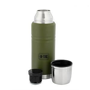 Термос оливковый без клапана 750мл