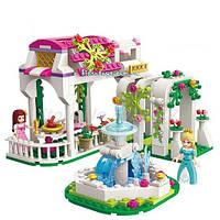 Конструктор «Розовая серия. Сад принцессы Лии» 2602 Brick, 261 детали и мини-фигурки