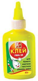 Клей ПВА-М Промінь 65 г у жовтому флаконі 20С1352-08