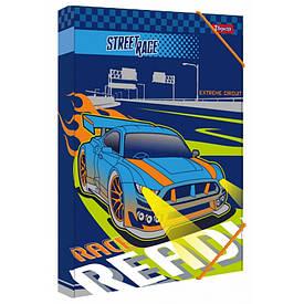 Папка для труда картонная A4 1Вересня ''Street race''
