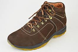 Ботинки зимние Bonis 8 коричневые замша 44 Размер