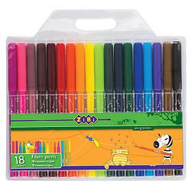 Фломастери 18 кольорів