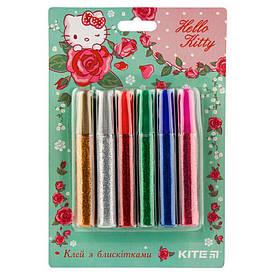 Клей с блестками Kite Hello Kitty набор 6 цветов (HK19-107)