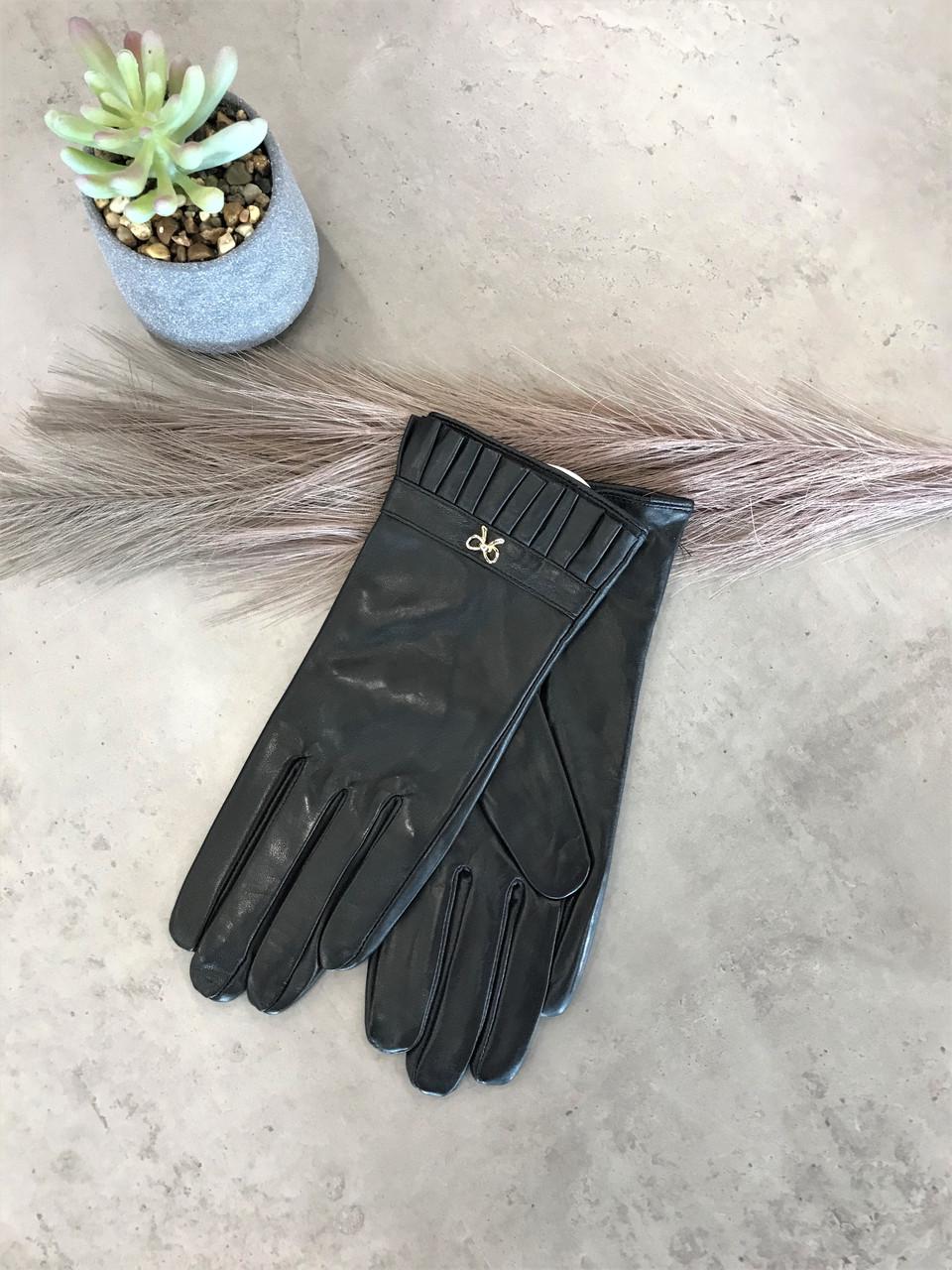 Женские кожаные перчатки 4-780