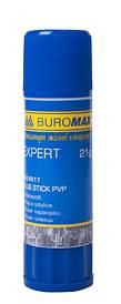 Клей карандаш PVP Buromax EXPERT 21г (BM.4917)