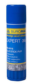 Клей карандаш PVP Buromax EXPERT 36г (BM.4918)