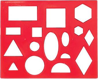 Трафарет геометричних фігур №1 12С836-08