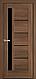 """Двері засклені міжкімнатні новий стиль Ностра """"Грета G,BLK"""" 60,70,80,90 см каштан, фото 6"""