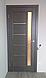 """Двері засклені міжкімнатні новий стиль Ностра """"Грета G,BLK"""" 60,70,80,90 см каштан, фото 8"""