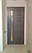 """Двері засклені міжкімнатні новий стиль Ностра """"Грета G,BLK"""" 60,70,80,90 см каштан, фото 9"""