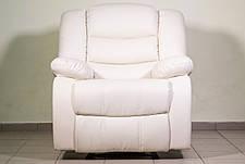 Шкіряне крісло-реклайнер Ashley, крісло з реклайнером, реклайнер, м'яке крісло, фото 2