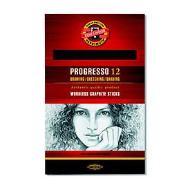 Олівець графітний Koh-i-noor 2B Progresso бездревесный 8911 2B