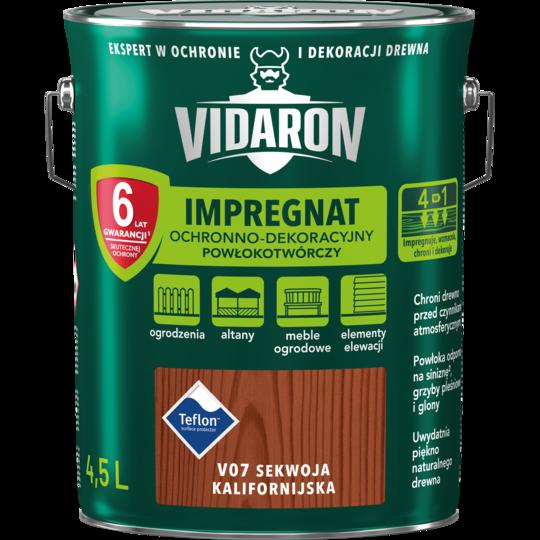 Импрегнат Древкорн V07 Vidaron калифорнийская секвойя 4,5 л
