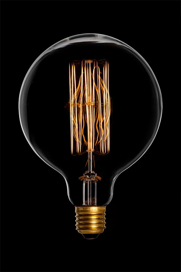 "Лампа Эдисона  шар"" 125mm 40W"