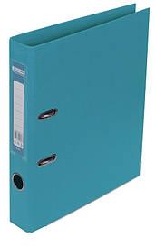 Реєстратор 5 см Buromax PP А4 двостороння блакитний (BM.3002-14c)