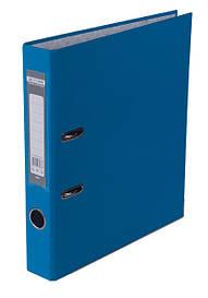 Реєстратор 5 см Buromax PP А4 одностороння світло-синій LUX (BM.3012-30c)