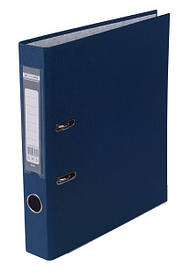Регистратор 5 см Buromax PP А4 односторонняя темно-синий LUX (BM.3012-03c)