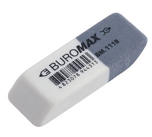 Ластик Buromax 41x14x8мм (BM.1118)