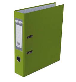 Регистратор 7 см Buromax PP А4 односторонняя салатовый LUX (BM.3011-15c)