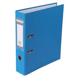 Регистратор 7 см Buromax PP А4 односторонняя светло-синий LUX (BM.3011-30c)