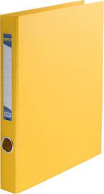 Реєстратор 4 см Buromax PP А4 двостороння жовтий (BM.3101-08)
