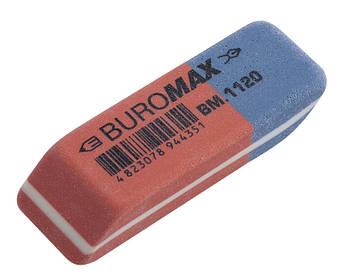 Ластик Buromax 42x14x8мм (BM.1120)