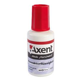 Коректор Axent 20мл 7001-A