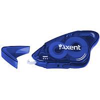 Корректор канцелярский ленточный Axent 5ммX8м синий 7003-02-A