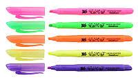 Маркер Highlighter YES Neon, 5 кольорів Yes 390445