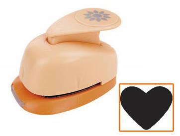 Дырокол фигурный Heyda Сердце 1,6см (4005329874215)