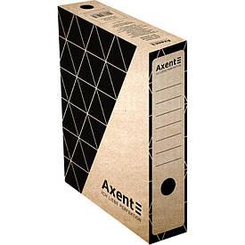 Бокс для хранения документов архивный Axent 80 мм для архивации крафт (1731-00-A)