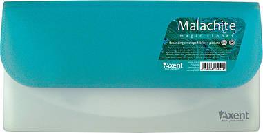 Папка-конверт Magic stones Axent DL на 4 відділення бірюза 1419-11-А