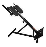 Тренажер гіперекстензія для будинку регульована, римський стілець, фото 1