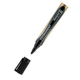 Маркер Centropen Permanent 2 мм круглый,черный (D2603-01)